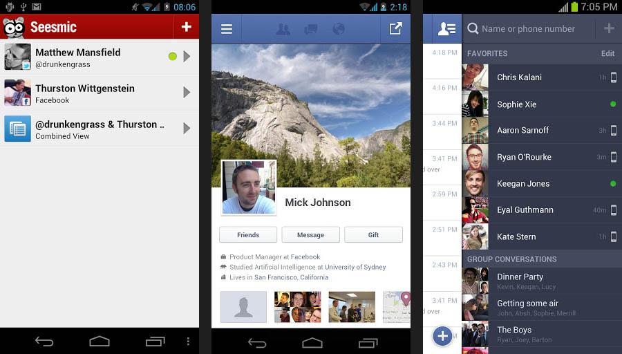 Appli facebook gratuites P1 A